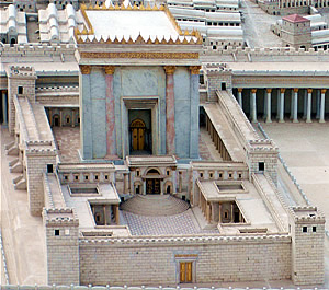 The Temple of Herod.