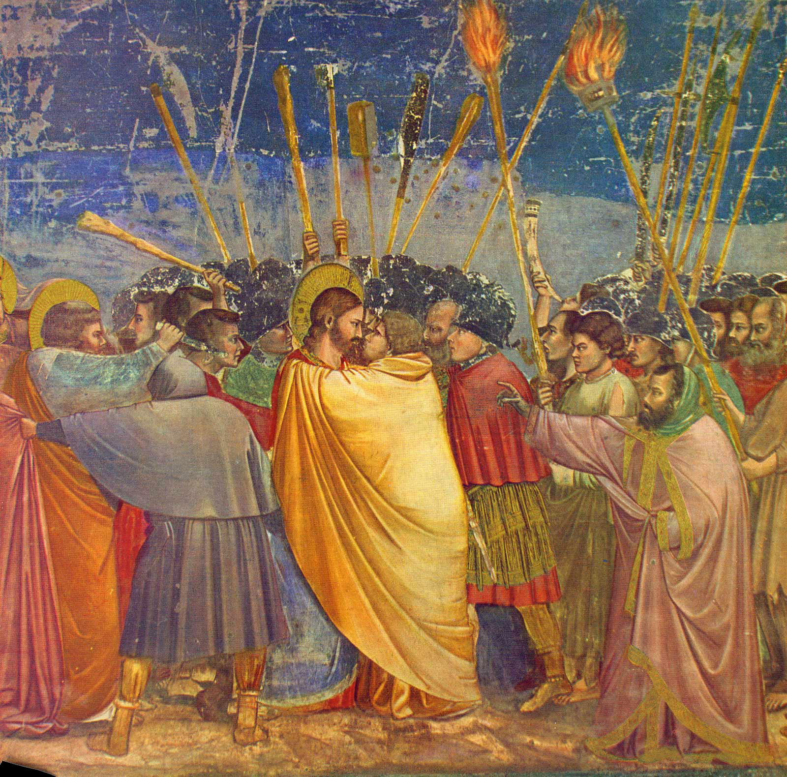 The Betrayal - by Giotto