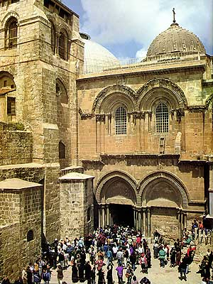 The Church of the Holy Sepulchre. (600x800. 215kb.)