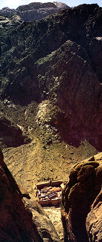 Mount St Mary >> Monastery of St Catherine, Sinai: Environs.