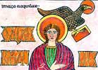 Lindisfarne Gospels: The Gospel According to St John. Title Page. (Section)