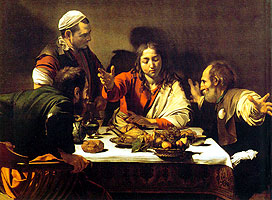 The supper at Emmaus-Caravaggio